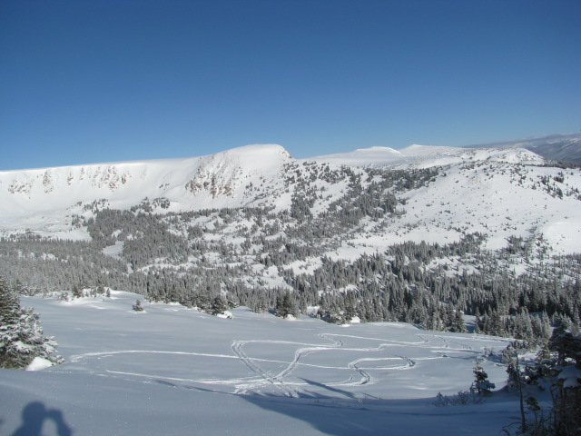 view from the west side of the pass