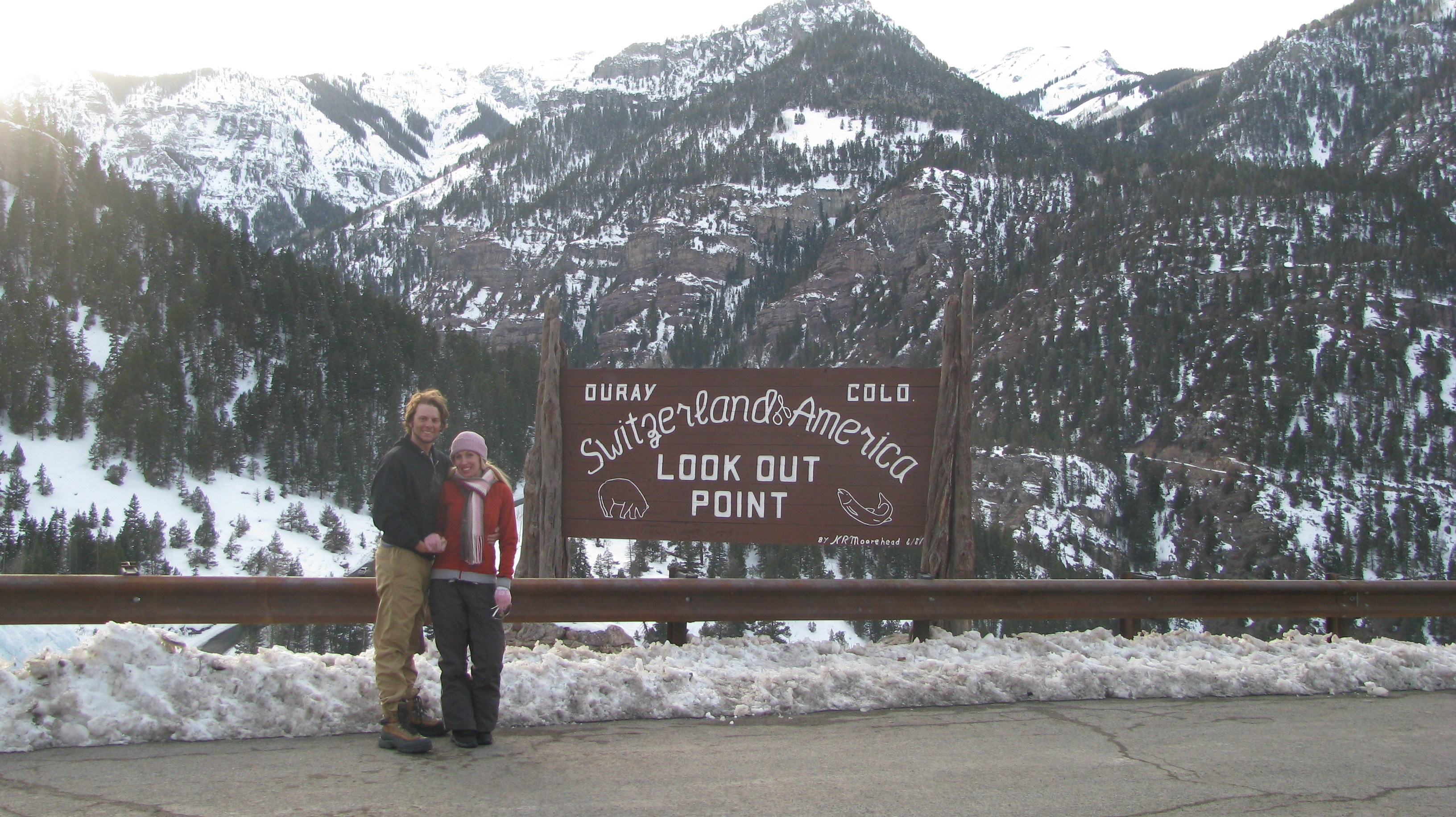 V and I in Ouray